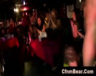 Sexy Cfnm Babes Sucking Stripper Cock At Party - scene 1