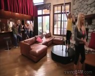 Couples Get Drunk At Private Party In Swingers Reality - scene 5