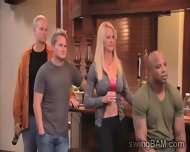 Couples Get Drunk At Private Party In Swingers Reality - scene 7