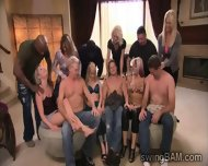 Hot Couples Go Horny On Each Ohters At This Rpivate Party - scene 7