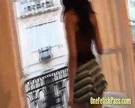 Stunning Miniskirt Babe - scene 3