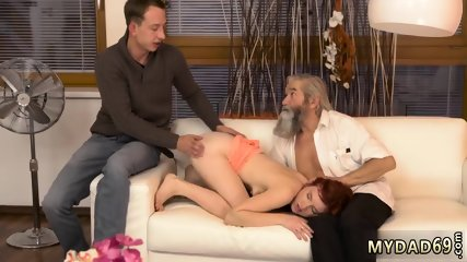 Straight daddy Unexpected practice with an older gentleman