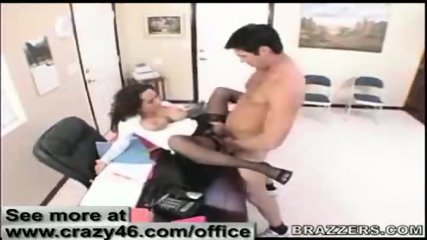 Secretary fucks here Boss in Office - scene 12
