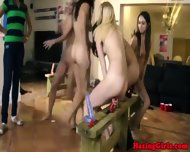 Young Dyke Freshie Riding Dildos - scene 8