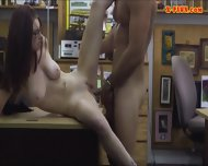 Pretty Amateur Girl Screwed Up By Pawn Keeper For Cash - scene 11