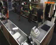Pretty Amateur Girl Screwed Up By Pawn Keeper For Cash - scene 2