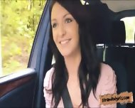 Hitch Hiking Amateur Teen Belle Claire Pounded In Public - scene 2