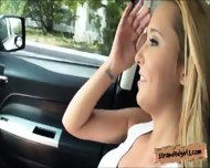 Hot Beautiful Blondie Teen Tucker Starr Fucked In The Car - scene 2