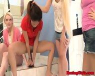 Lesbian Sorority Babe Playing Eat Pussy - scene 3