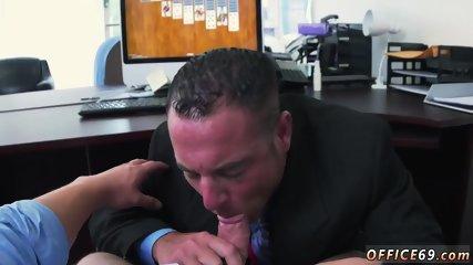 Handsome hunk gay sex clip in Earn That Bonus