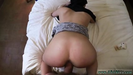 Horny arab couple xxx 21 year old refugee in my hotel apartment for sex