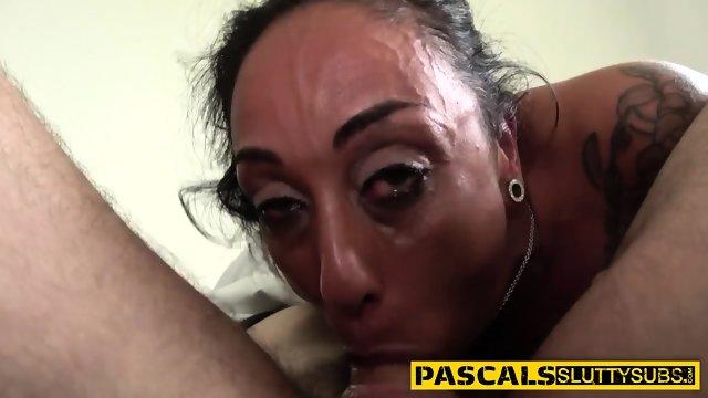 Throated sumissive whore