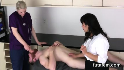 Kittens shag boyfriends butthole with oversized belt cocks and squirt sperm