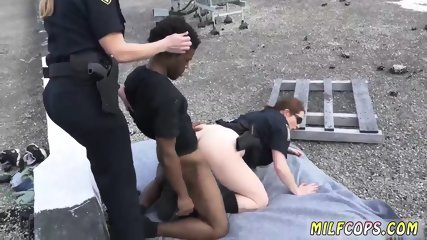 Fuck white milf and hot spanish Peeping Tom on our Asses!