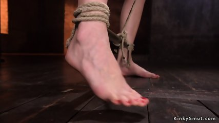 Pretty babe punished in various positions