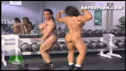 Nasty naked female bodybuilders - scene 10