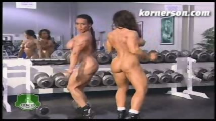 Nasty naked female bodybuilders - scene 11