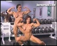 Nasty naked female bodybuilders - scene 3