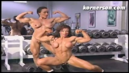 Nasty naked female bodybuilders - scene 3