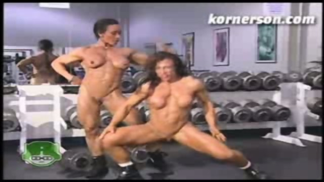 Nasty naked female bodybuilders