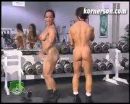 Nasty naked female bodybuilders - scene 7