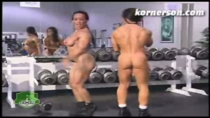 Nasty naked female bodybuilders - scene 7