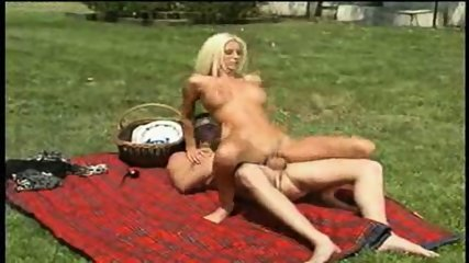 Krystal Steal having some fun Outside - scene 12