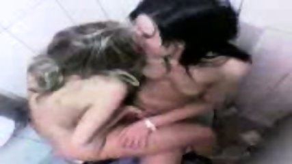 2 Lesbians getting caught on Cam - scene 8