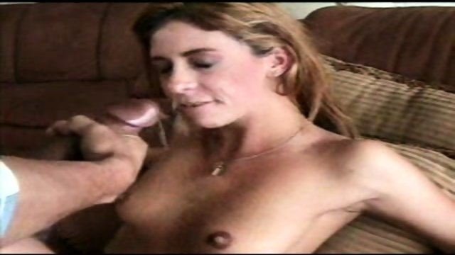 Blond Slut with an Overbite tastes Cum