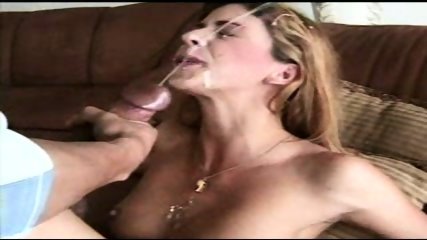 Blond Slut with an Overbite tastes Cum - scene 7