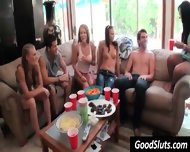 Girls Get Naked On Couch