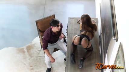 Sarah worships her master by riding his big cock on the ground