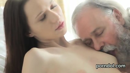 Ideal schoolgirl gets seduced and screwed by aged instructor