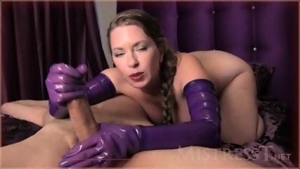 Denied With Purple Gloves - scene 8