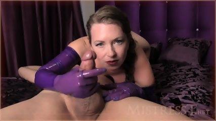 Denied With Purple Gloves - scene 4