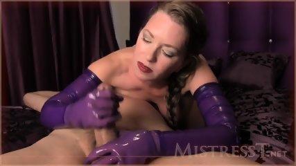 Denied With Purple Gloves - scene 5