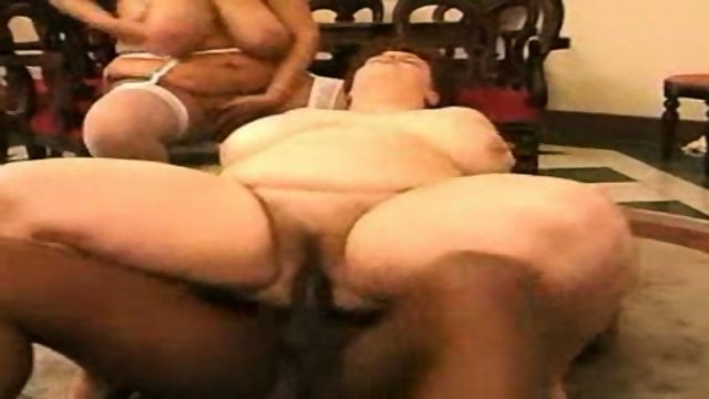 Black Cock and two big matures