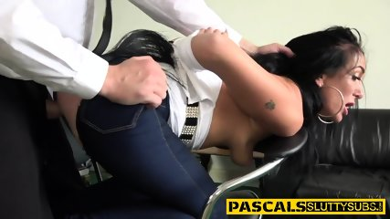 Cock tugging bdsm whore