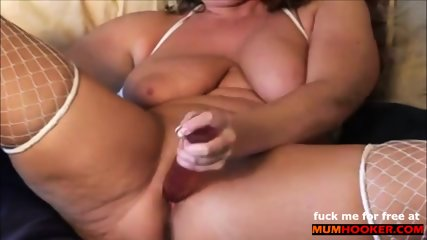 Horny mom fuck her cunt and dirty talking