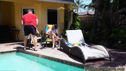Family crony s daughter Holly Hendrix Has Some Fun With Her Dad s companion
