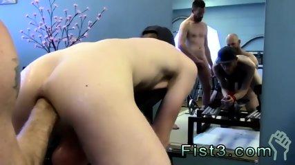Teen bareback internal gay Under expert piggy Chad Anders guidance