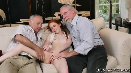 Creampie old fat granny and two man fuck young girl Online Hook-up