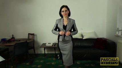 Classy UK MILF Belle OHara Submits To Dom - scene 7