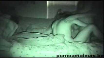 Couple fuck in night vision homemade video