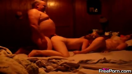 Real Homemade Threesome Banging