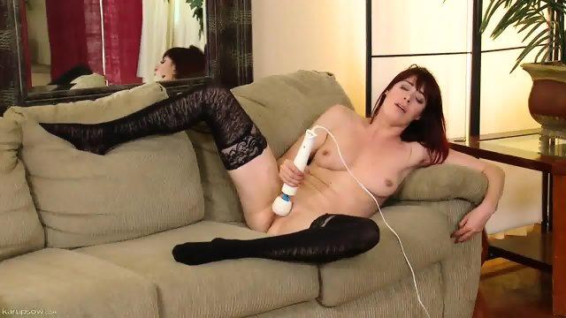 Pussy Stimulation On Sofa