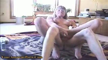 Horny bitch gets fucked in both of her holes - scene 8