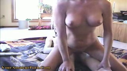 Horny bitch gets fucked in both of her holes - scene 2