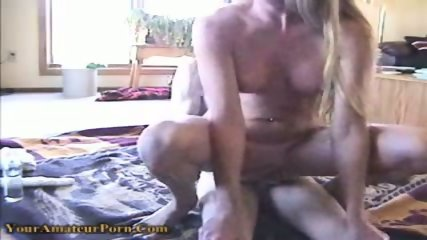 Horny bitch gets fucked in both of her holes - scene 7