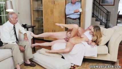 Daddy care and breakfast handjob old man Molly Earns Her Keep